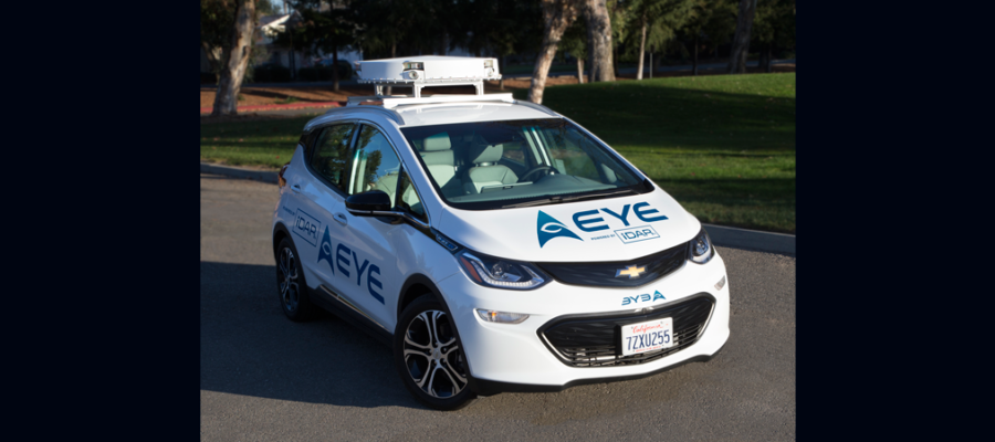 AEye Announces The AE100 Robotic Perception System For Autonomous Vehicles