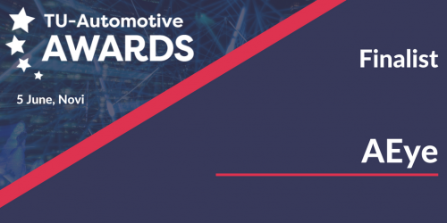 TU-Automotive 2018 Award Finalist – Newcomer of the Year