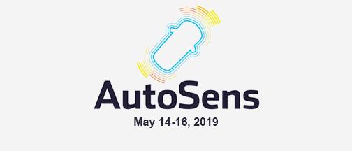 AutoSens Detroit –May 14-16, 2019