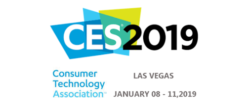 Consumer Electronics Show – Jan. 8-11, 2019