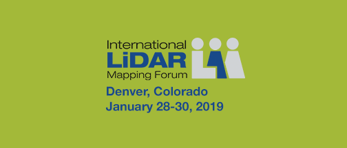 International LiDAR Mapping Forum 2019