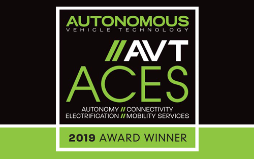AVT ACES 2019 Award Winner