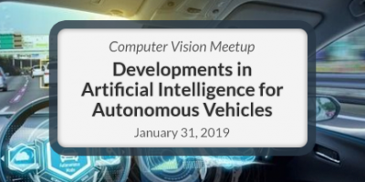 Computer Vision Meetup