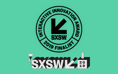 SXSW Interactive Innovation Awards Finalist 2019 – AI & Machine Learning