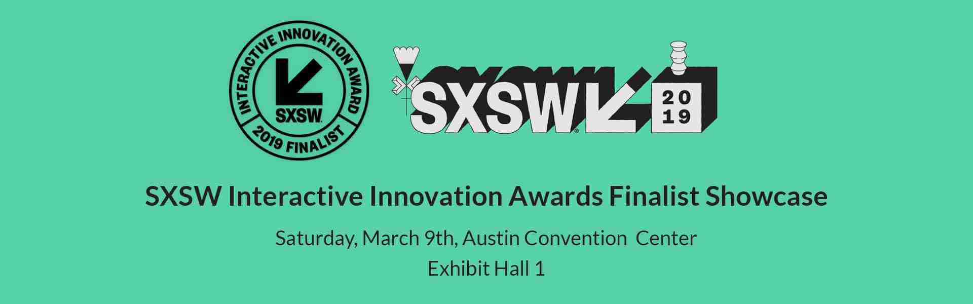 SXSW Interactive Awards Finalist Showcase 2019 - AEye