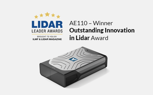 Lidar Leader Award Winner 2019 – Outstanding Innovation In Lidar
