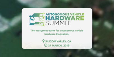 Autonomous Vehicle Hardware Summit 2019 Logo