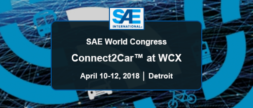 SAE World Congress – April 10-12, 2019