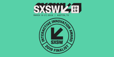 SXSW 2019 Finalist In AI & Machine Learning