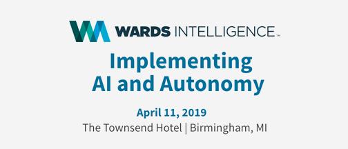 Ward's Auto AI & Autonomy logo