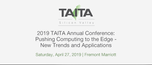 TAITA Annual Conference: Pushing Computing To The Edge – April 27, 2019