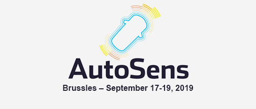 AutoSens Brussels – September 17-19, 2019