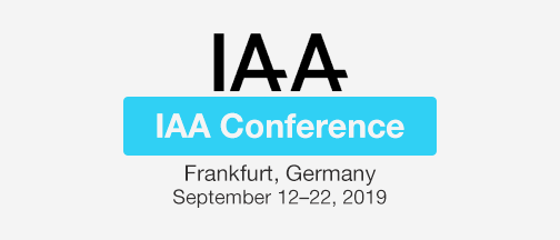 IAA Conference Sep 2019