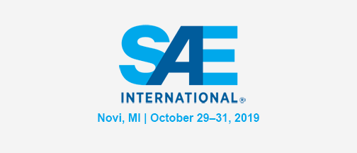 SAE Innovations In Mobility – October 29-31, 2019