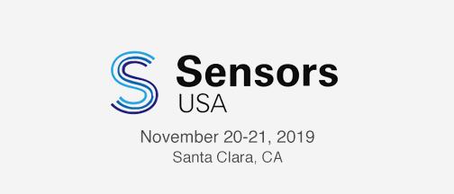 Sensors USA –November 20-21, 2019