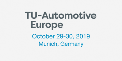 TU Automotive Europe 2019