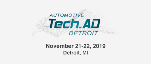 Tech.AD Detroit – November 21-22, 2019