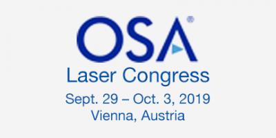 OSA Laser Congress 2019