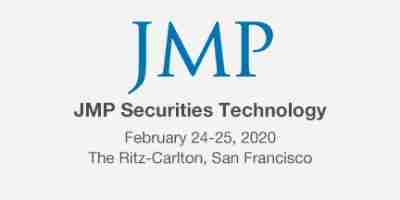 JMP Securities Technology Conference