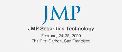 JMP Securities Technology Conference – February 24-25, 2020
