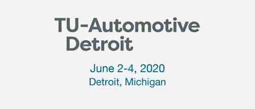 TU-Automotive Detroit 2020