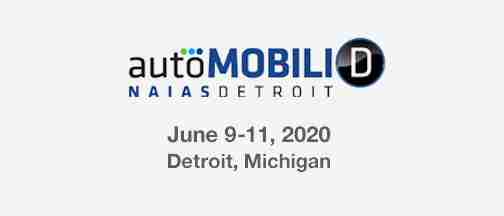 AUTOMOBILI-D @ NAIAS Detroit – June 9-11, 2020