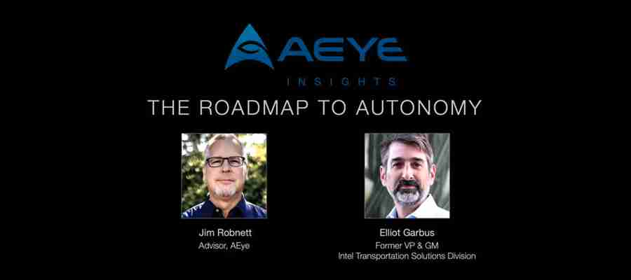 AEye Insights: The Roadmap to Autonomy
