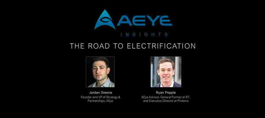 AEye Insights: The Road to Electrification