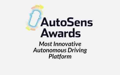 AutoSens Most Innovative Autonomous Driving Platform Award